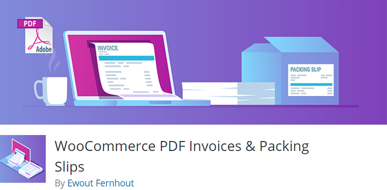 WooCommerce PDF Invoices & Packing-plug-in