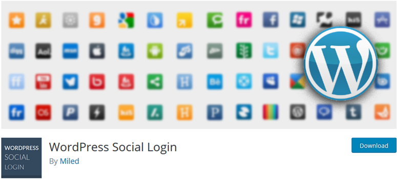 login sosial wordpress