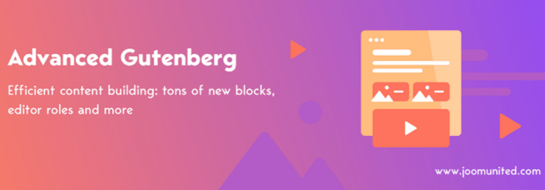 Advanced Gutenberg, blokir plugin
