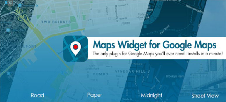 Widget di Maps per Google Maps