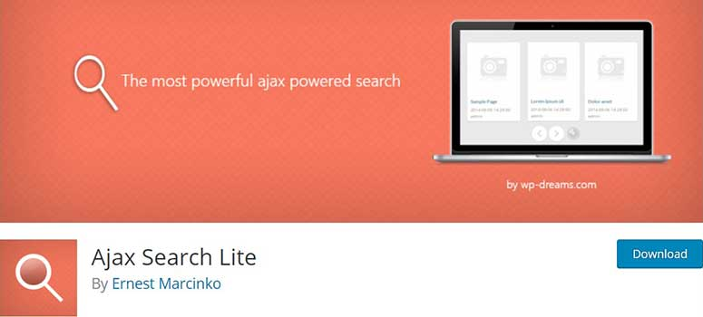 """Ajax Search Lite"""