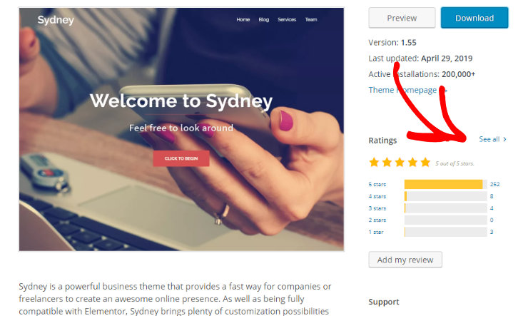 wordpress-theme-review