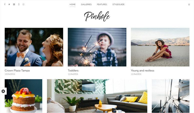 pinhole-wordpress-þema