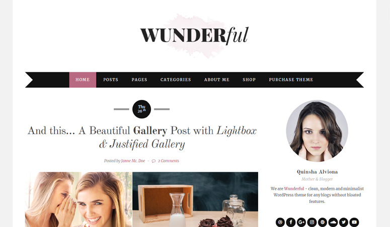 wunderful-wordpress-þema