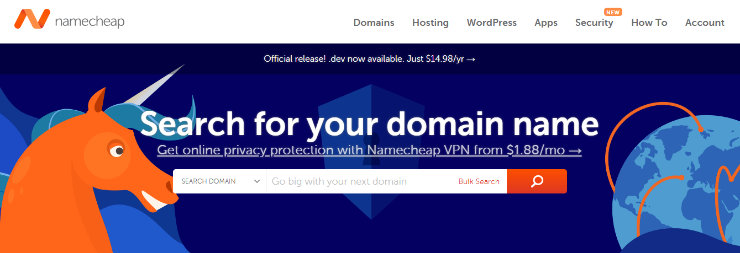 Namecheap-blog-name-generátor