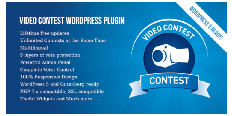 Plugin peraduan video, plugin giveaway, plugin peraduan