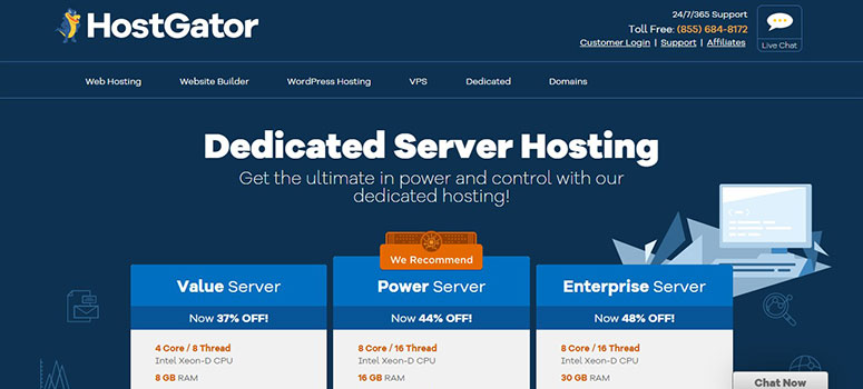 Serveris HostGator