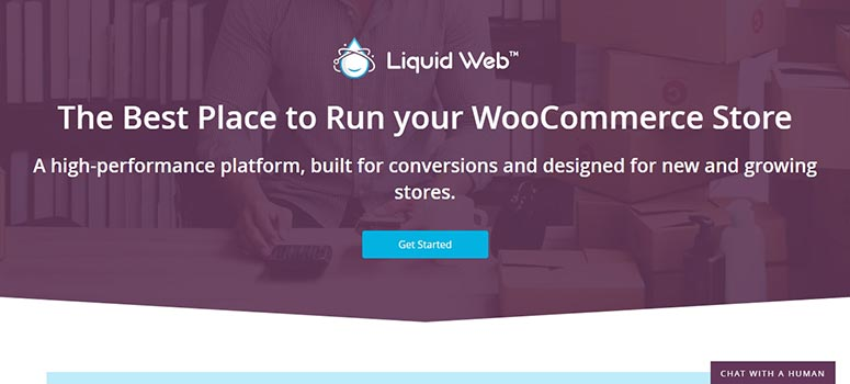 Liquid Web WooCommerce 호스팅