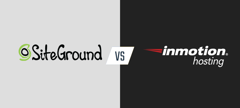 Siteground vs inmotion-hosting
