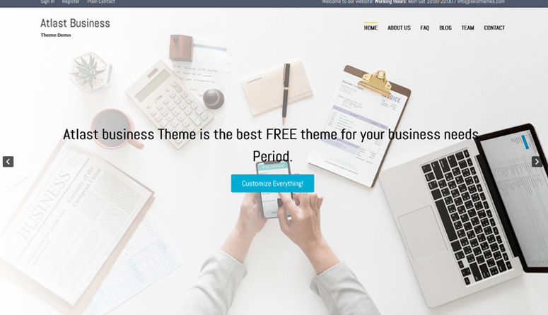atlast-business-wordpress-θέμα