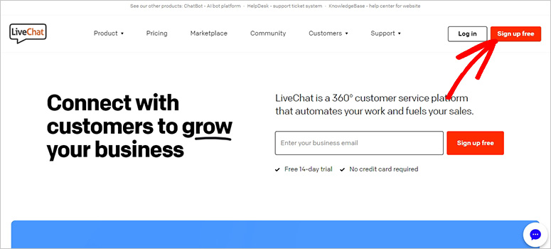 LiveChat-website