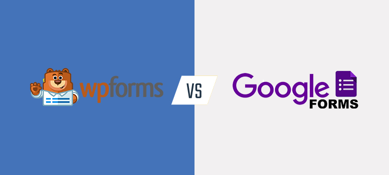 wpforms vs. google formulieren